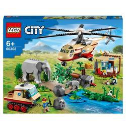 60302 - LEGO® City - L'opération de sauvetage des animaux sauvages