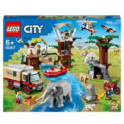 60307 - LEGO® City - Le camp de sauvetage des animaux sauvages