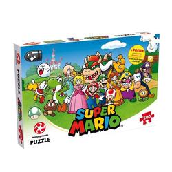 Puzzle Super Mario et ses amis 500 pièces