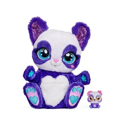 Peek-A-Roo - Maman Panda et son bébé surprise - Peluche interactive