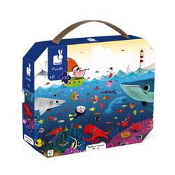 Puzzle monde sous-marin 100 pièces