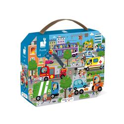 Puzzle 36 pièces City