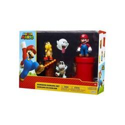 Mario Coffret 4 figurines + accessoires Donjon