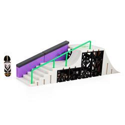 Tech Deck -  Skatepark Nyjah Hutson - Mini Skateboard