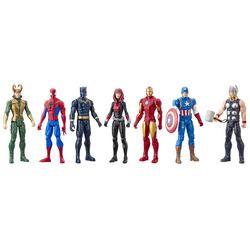 Pack de 7 figurines 30 cm - Marvel Avengers Titan Hero Series