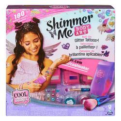Cool Maker - Shimmer Me Body Art - Coffret de tatouages éphémères