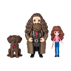 Harry Potter - Magical Minis Pack Amitié - Figurine Hermione Granger et Rubeus Hagrid