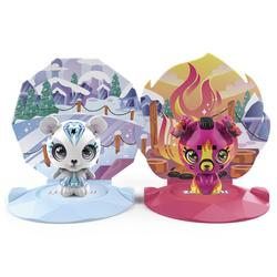 Zoobles - Figurine à collectionner-  Pack de 2 Zoobles Animaux