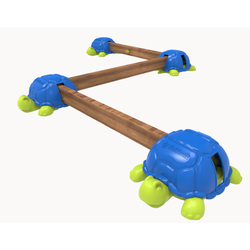 Poutres d'équilibre tortues