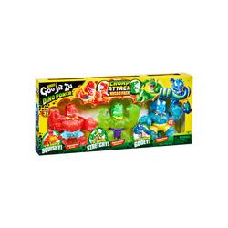 Pack 3 figurines Goo Jit Zu Dino