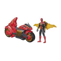 Figurine Spiderman 15 cm avec véhicule - Marvel