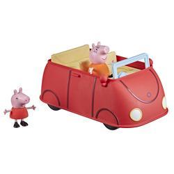 La voiture rouge de Peppa Pig