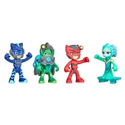 Pack 4 figurines 7,5 cm Mission Aquatique - Pyjamasques