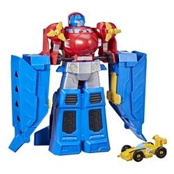 Figurine 38 cm Optimus Prime Jumbo Jet avec figurine Bumblebee - Transformers