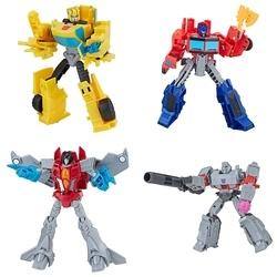 Pack 4 figurines 13,5 cm Transformers Buzzworthy Bumblebee