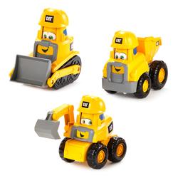 Pack 3 véhicules de chantier Cat