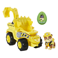 Véhicule La Pat'Patrouille avec figurine Ruben Dino Rescue - Paw Patrol dinosaure