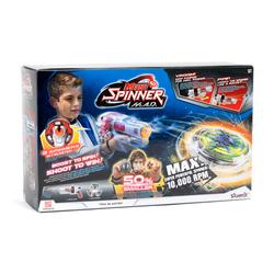 Blaster Lanceur en série de 3 Mini Toupies - SPINNER MAD -