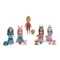 Coffret de 5 poupées Enchantimals Royales