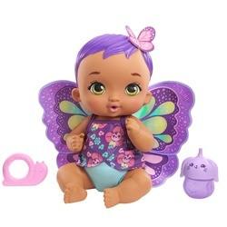 My Garden Baby - bébé papillon violet boit & fait pipi