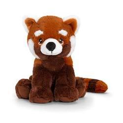 Peluche écologique panda roux 25 cm
