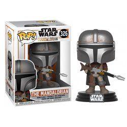 Figurine Le Mandalorien - Star Wars The Mandalorian - Funko Pop - n°326