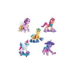 Figurine de poney 7,5 cm avec surprises et bracelet Aventure de cristal - My Little Pony