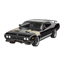 Maquette Fast and Furious Dominics 1971 Plymouth GTX