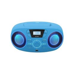 Lecteur CD/USB portable lumineux bleu