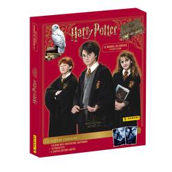 Album Harry Potter avec 16 pochettes et 2 cartes