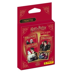 Blister 7 pochettes Panini Harry Potter