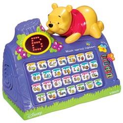 Winnie apprend l'alphabet
