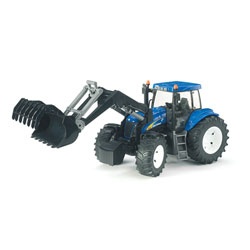 Tracteur New Holland TG285 Avec fourche