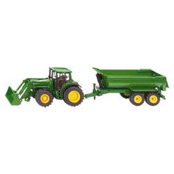 Tracteur Avec Chargeur et Benne Basculante