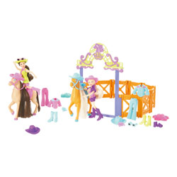 Le ranch de Polly Pocket