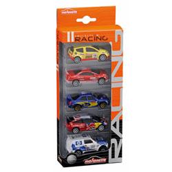 Coffret 5 voitures Rallye