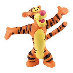 Figurine de Tigrou gros câlin Winnie l'ourson