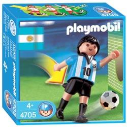 4705-Joueur Argentin Playmobil