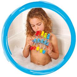 5 flûtes de bain