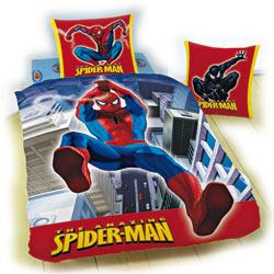 Housse de couette et taie Spiderman
