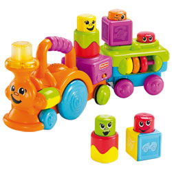 Train rigolo blocs