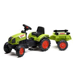 Tracteur Class + remorque