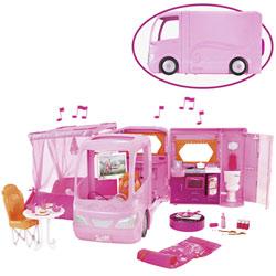Camping-car rose