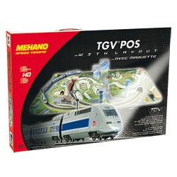 Coffret train TGV Pos