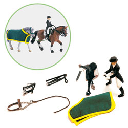 Set d'equitation, dressage