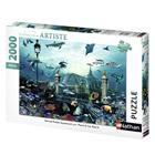 Collection de puzzle 2000 pièces Nathan