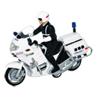 Moto police à friction
