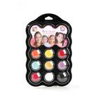 Palette de maquillage 9 couleurs princesse