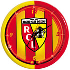 Horloge Néon Racing Club de Lens