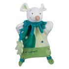 Doudou Marionnette Souris Verte